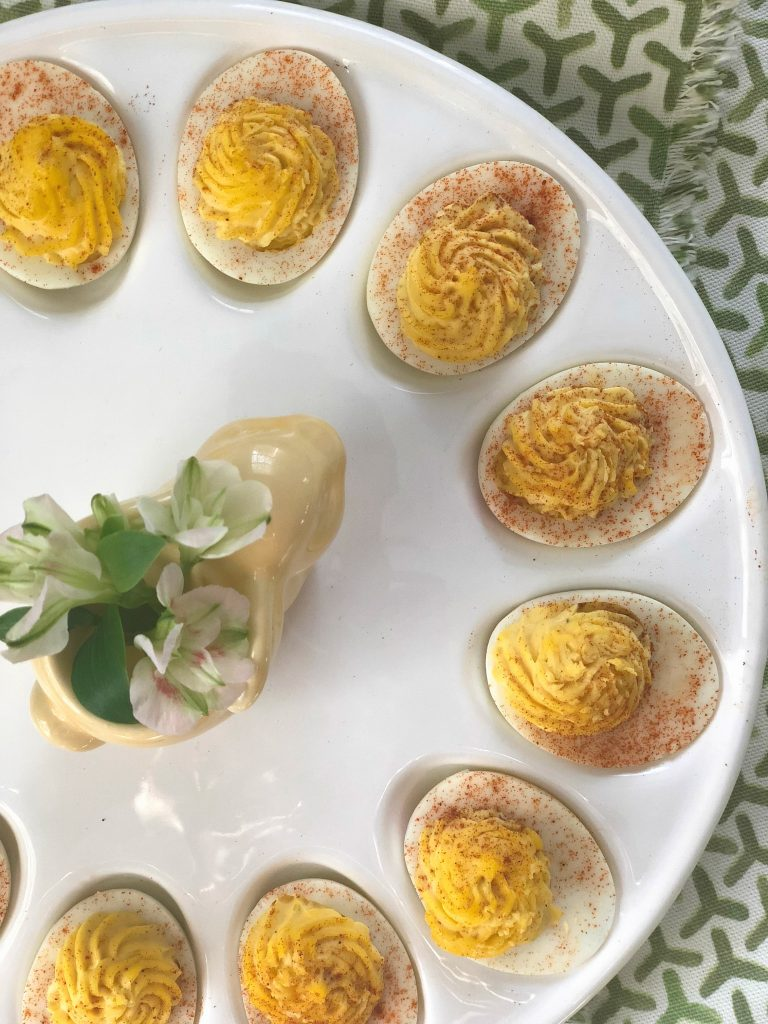 creamy deviled eggs for holidays and gatherings