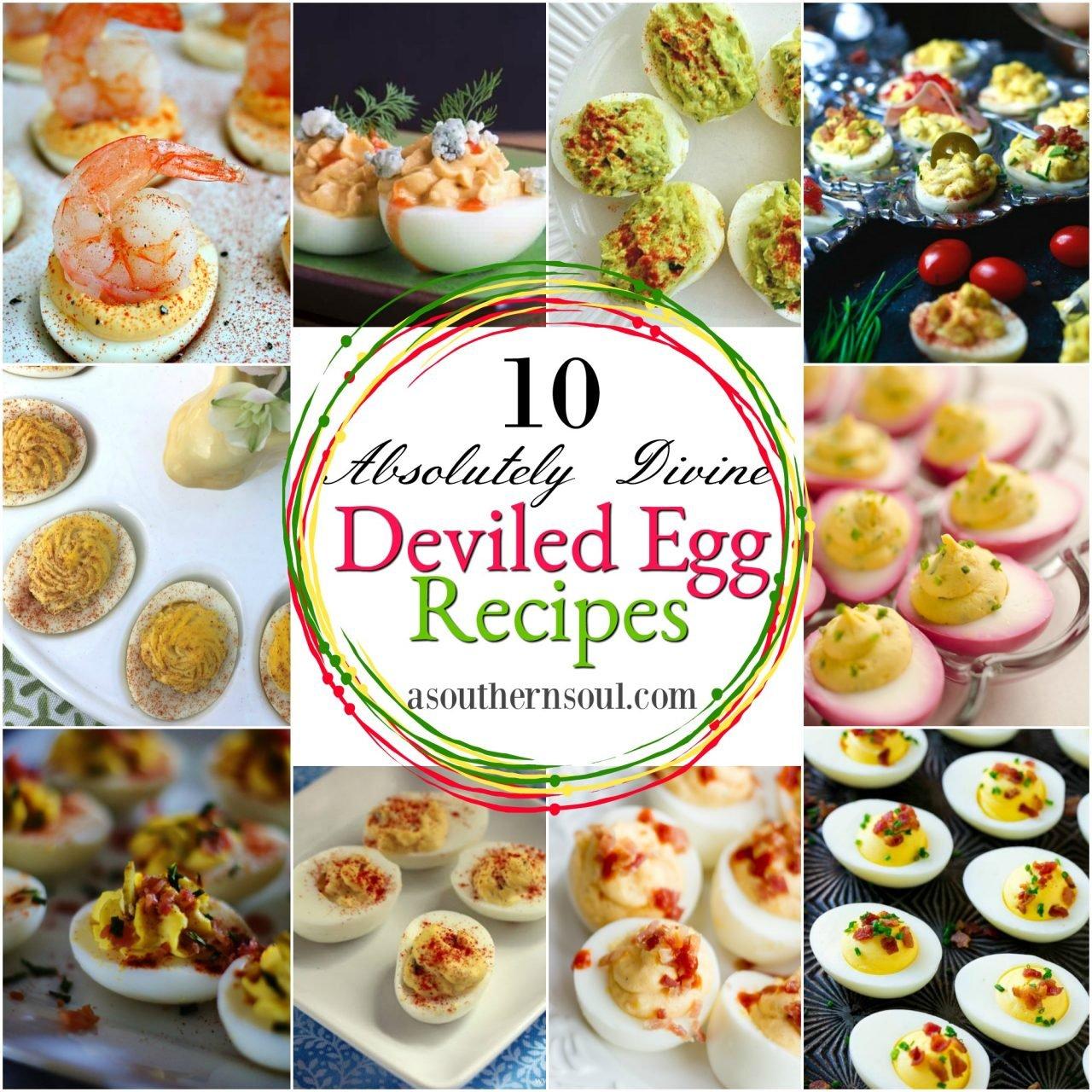 10 Absolutely Divine Deviled Egg Recipes