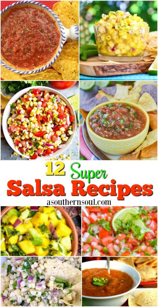 12 super salsa recipe collection from a southern soul