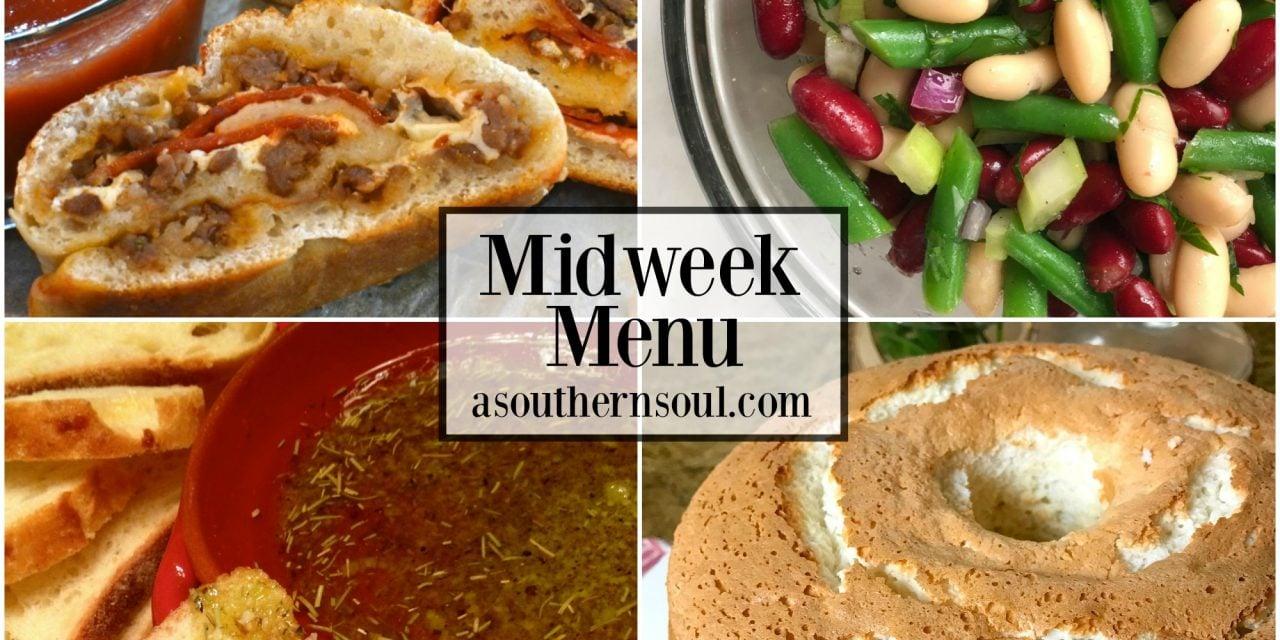 Midweek Menu #15 ~ Sausage & Pepperoni Stromboli