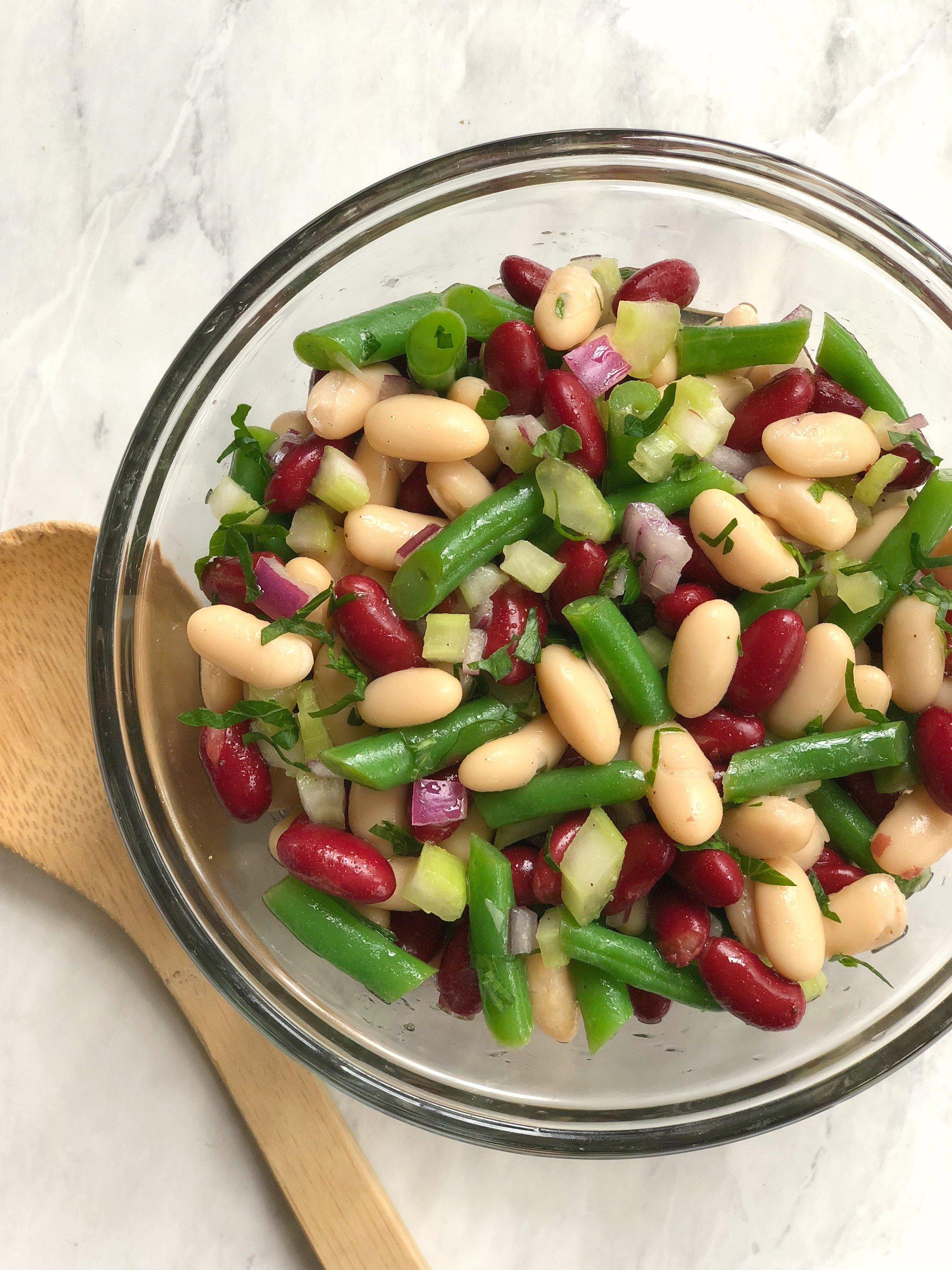 Three Bean Salad - A Southern Soul