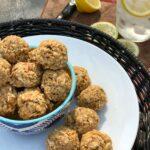 no-bake oatmeal sweet & salty energy bites
