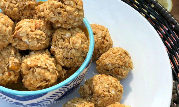 Sweet & Salty Oatmeal Energy Bites