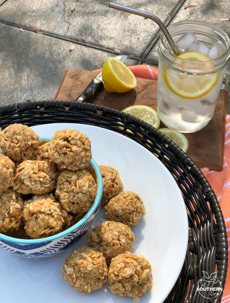 no-bake sweet and salty oatmeal energy bites