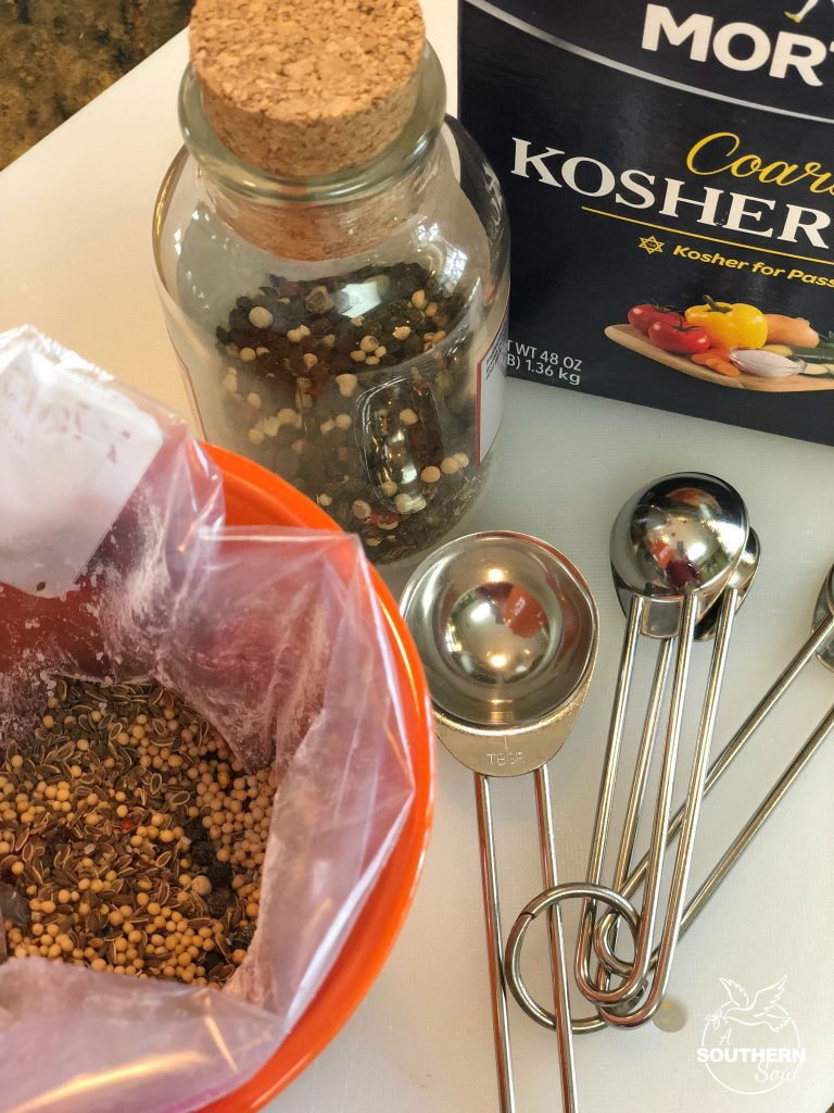 homemade montreal steak seasoning ingredients from your own kitchen
