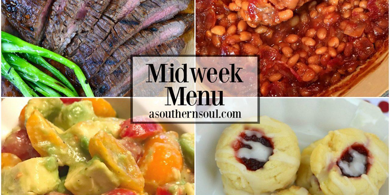 Midweek Menu #16 ~ Grilled Flank Steak