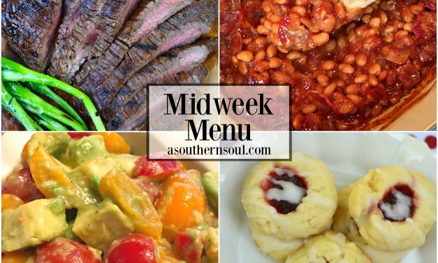 Midweek Menu #16 ~ Grilled Flank Steak