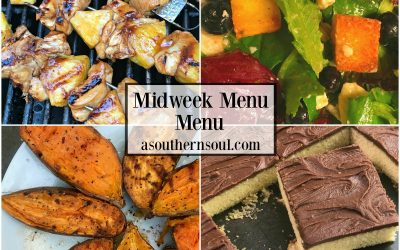 Midweek Menu #17 ~ Chicken Pineapple Skewers