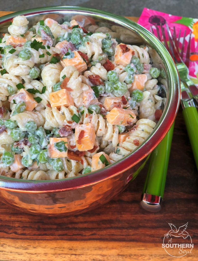 Bacon Ranch Pasta Salad A Southern Soul