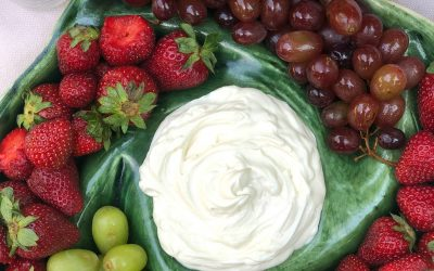 Three Ingredient Fruit Dip