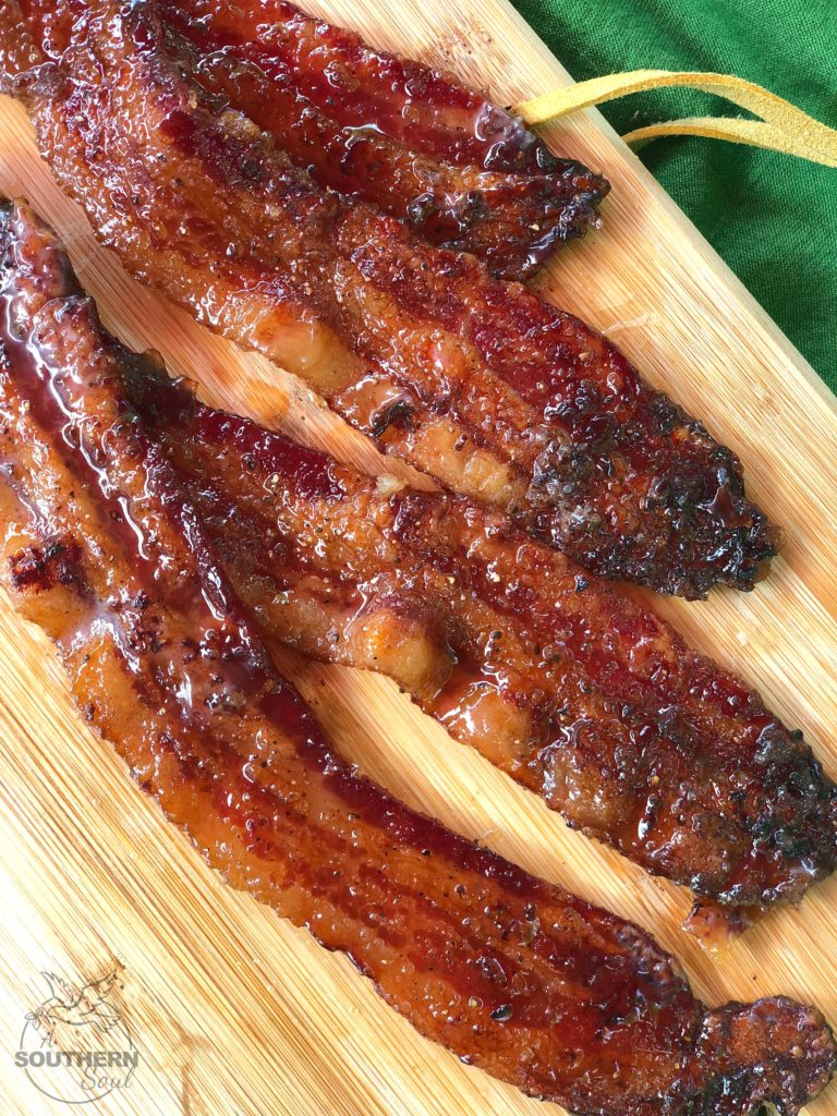 brown sugar pepper bacon