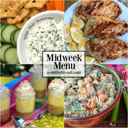 Midweek Menu #18 ~ Grilled Lemon Pepper Chicken