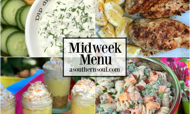 Midweek Menu #18 ~ Grilled Lemon Pepper Chicken