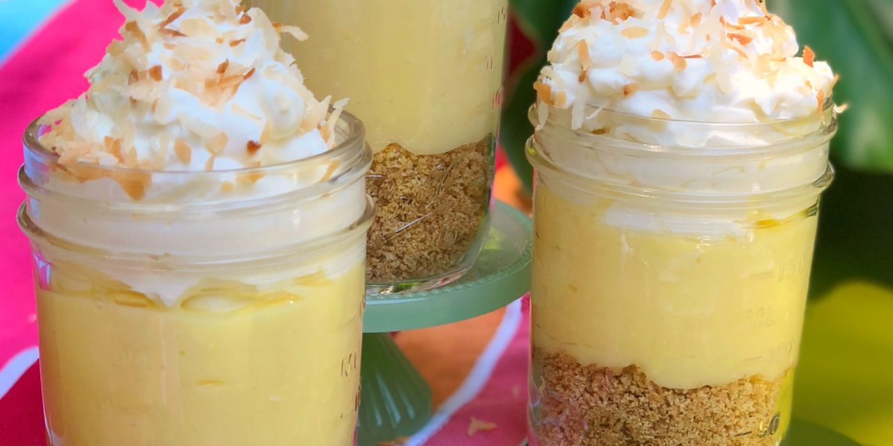 No Bake Coconut Cream Pie In Jars