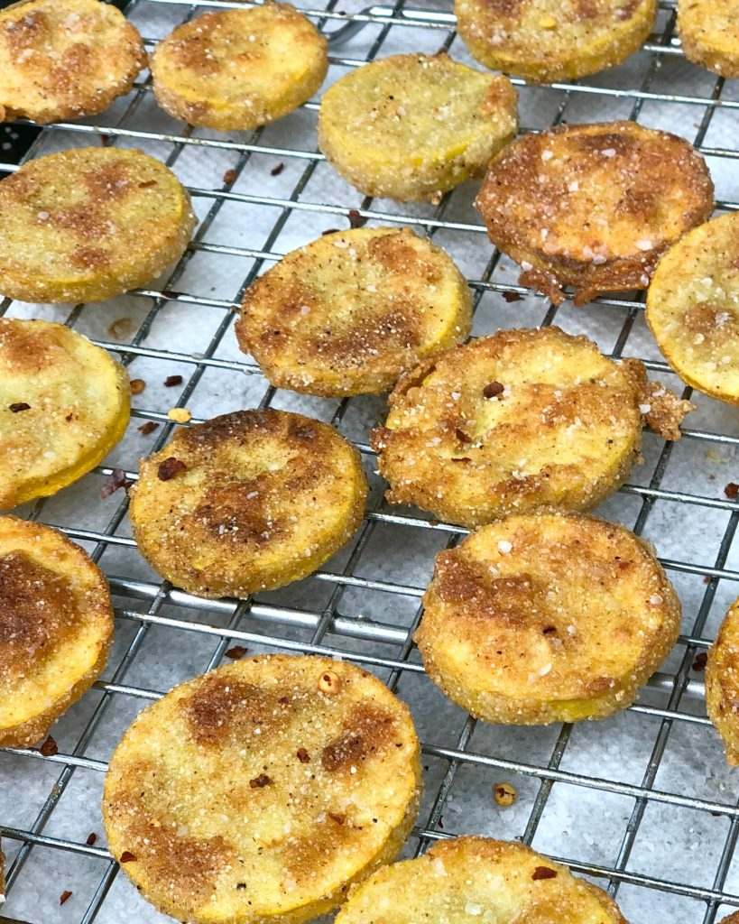Fried Squash from A Southern Soul
