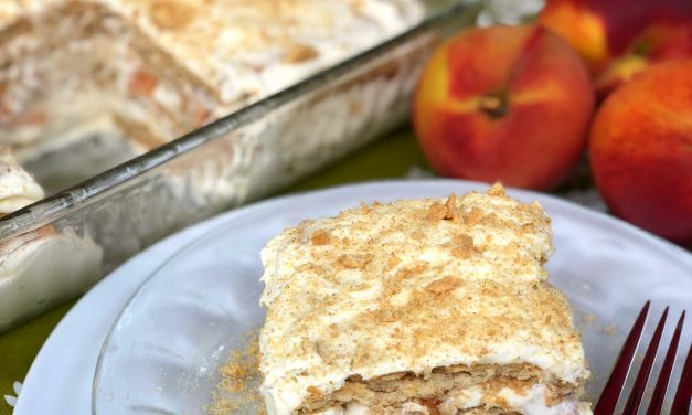 Peaches & Cream Icebox Cake