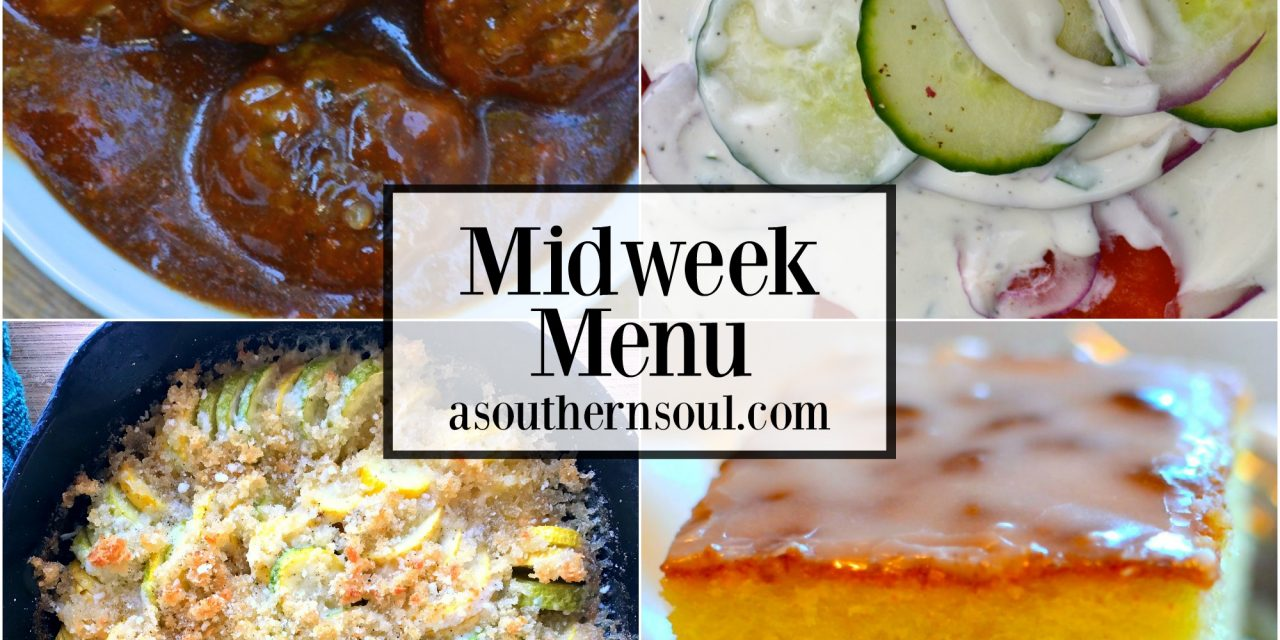 Midweek Menu #19 – Barbecued Meatballs