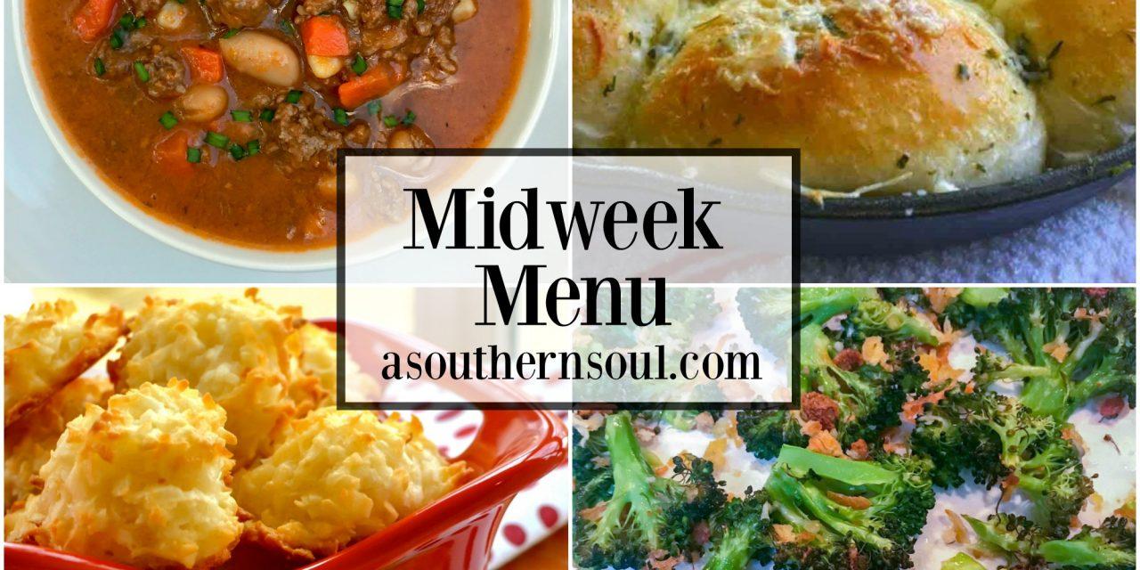 Midweek Menu #20 – Slow Cooker Beef & Bean Soup