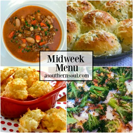 Midweek Menu #20 – Slow Cooker Beef & Bean Soup
