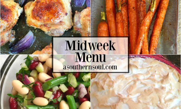 Midweek Menu #21 – Ranch Chicken Thighs