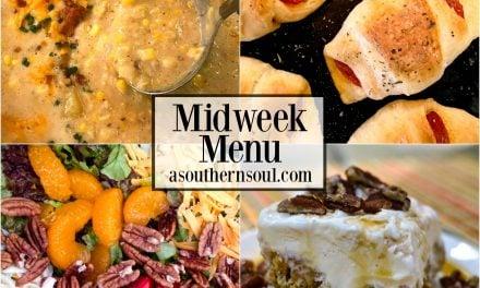 Midweek Menu #23 ~ Corn Chowder