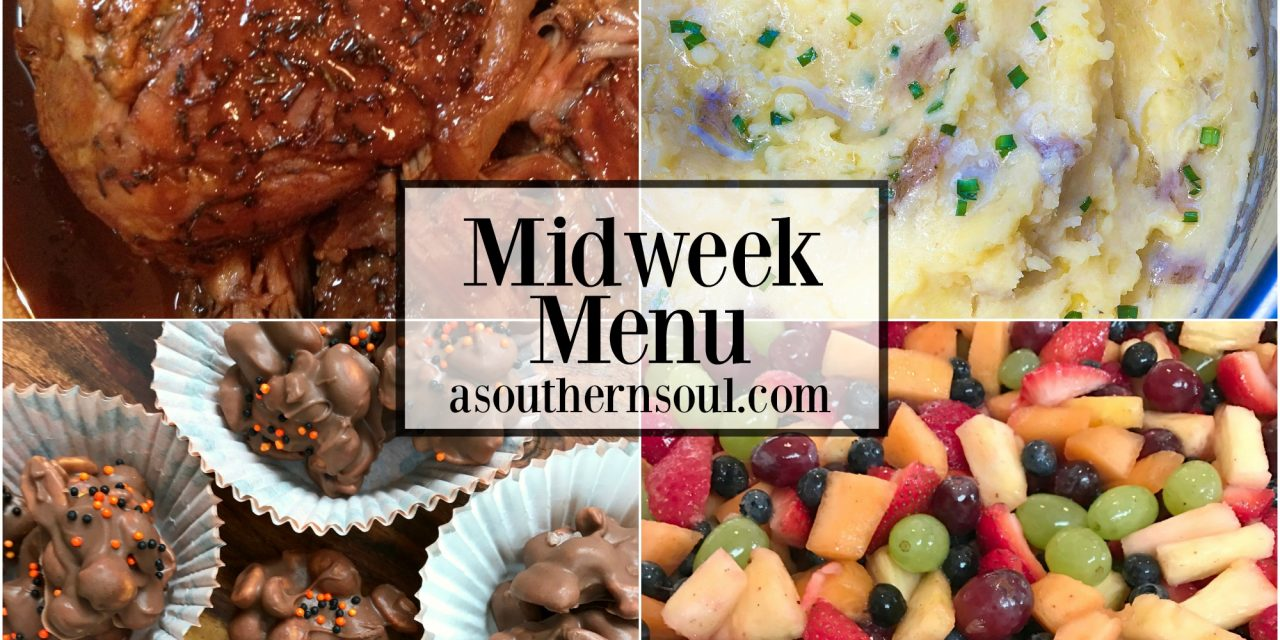 Midweek Menu #24 ~ Crock Pot Balsamic Brown Sugar Pork Roast