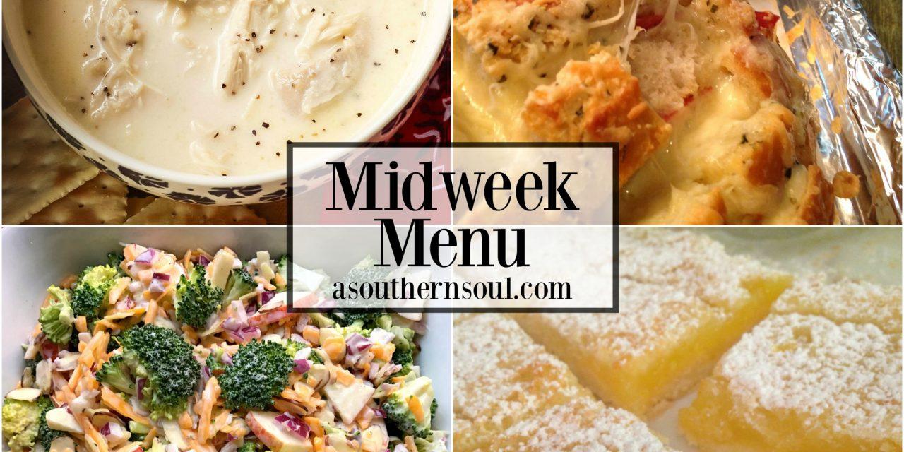 Midweek Menu #25 – Southern Style Chicken Stew