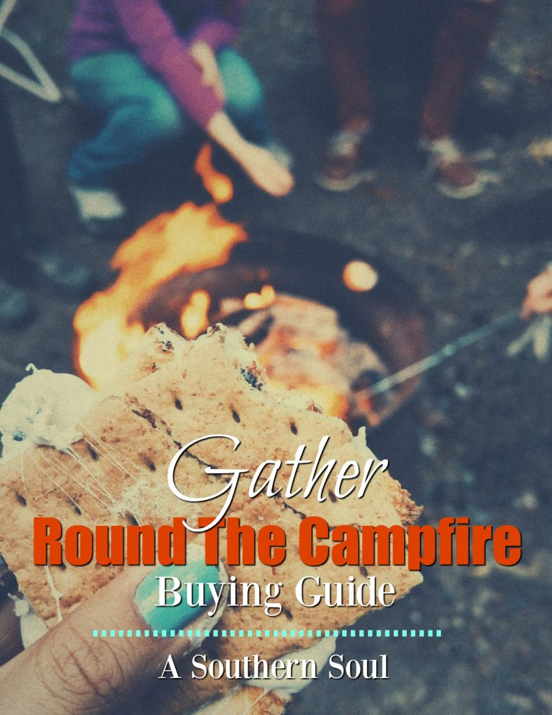 Gather round the campfire buying guide has cooking tools, and fun items to enjoy a night around the fire pit!
