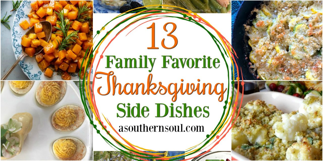 13 Family Favorite Thanksgiving Side Dishes