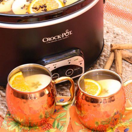 Crock Pot Mulled Cider
