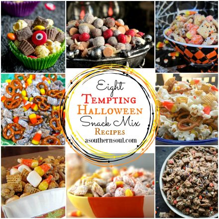 Eight Tempting Halloween Snack Mix Recipes