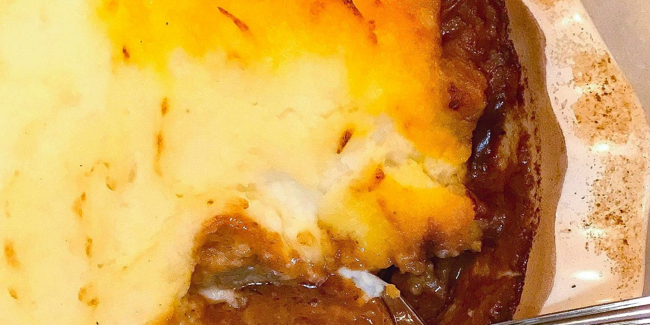 Beef Tips Shepherd's Pie