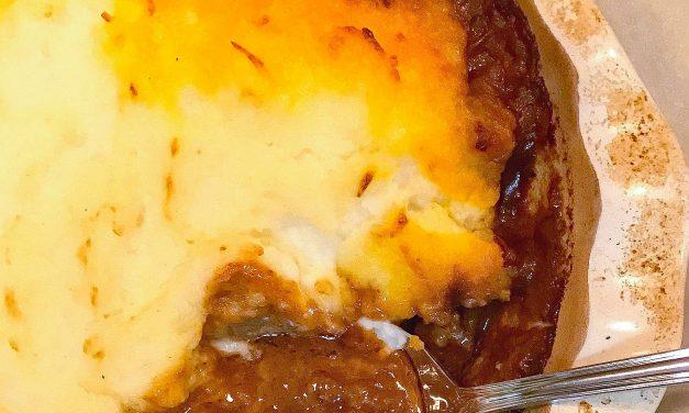 Beef Tips Shepherd's Pie