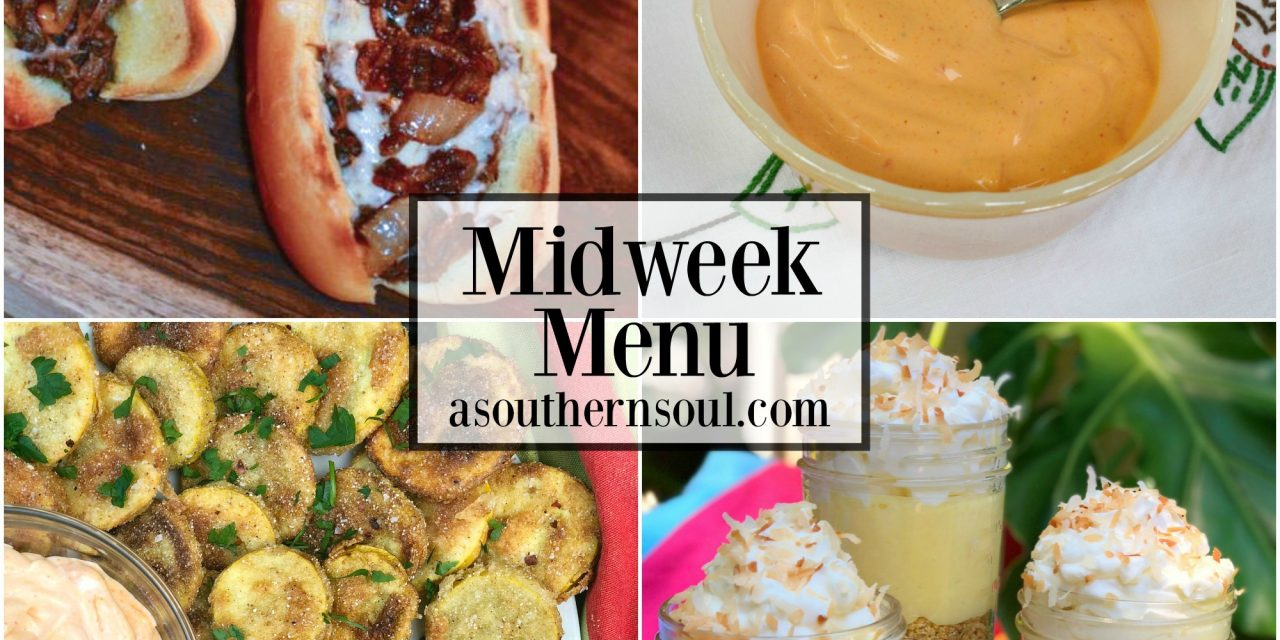 Midweek Menu #27 ~ Roast Beef & Cheese Sandwiches