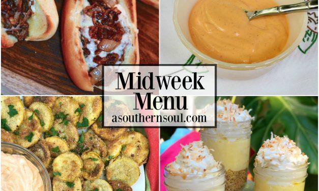 Midweek Menu #27 ~ Roast Beef & Cheese Sandwiches