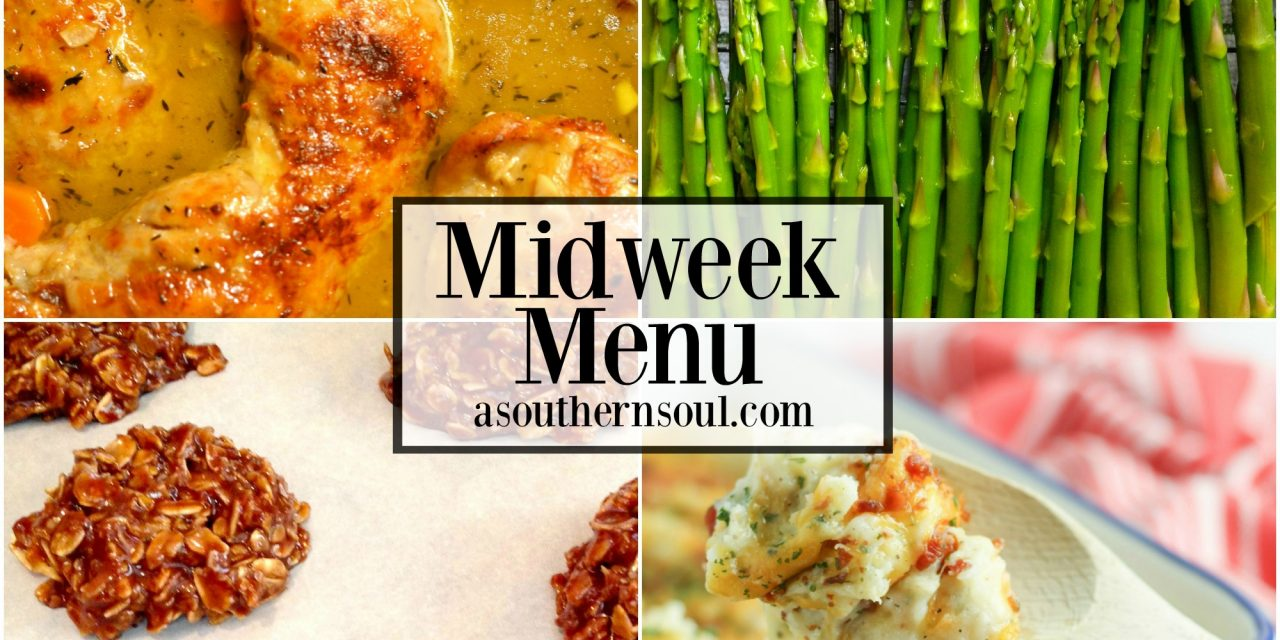 Midweek Menu #28 ~ Braised Chicken Thighs
