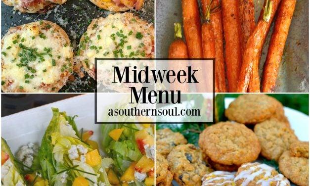 Midweek Menu #29 – English Muffin Pizzas