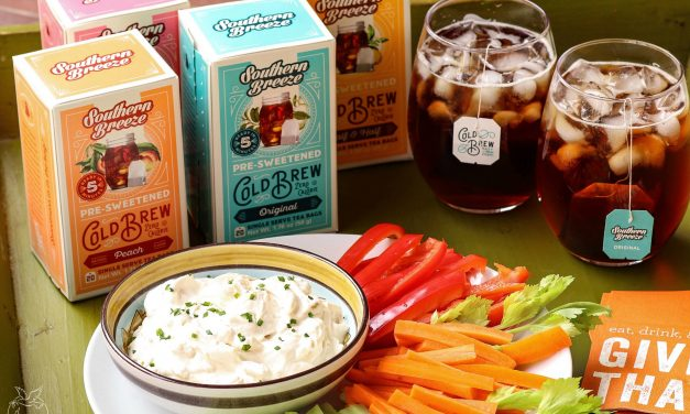 Healthy Snacking with Southern Breeze Cold Brew Tea