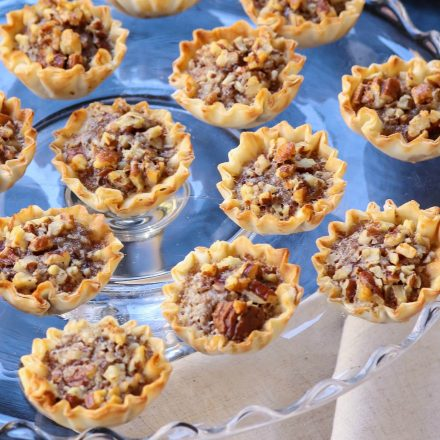 Pecan Pie Tart Bites