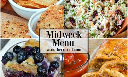 Midweek Menu #31 ~ Cranberry Pecan Slaw
