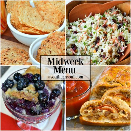 Midweek Menu #31 ~ Cranberry Pecan Slaw