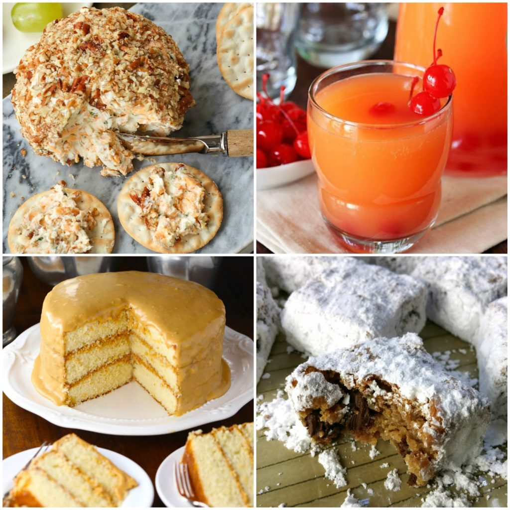 Meal Plan Monday #143 featuring Cheddar and Chive Cheese Ball from A Southern Soul
