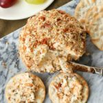 Cheddar & Chive Ball is an easy to make appetizer that's perfect for any gathering. It freezes beautifully so that you've throw a party at the drop of a hat!