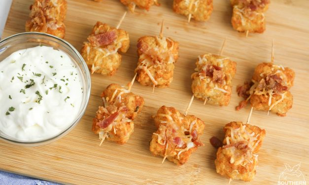 Loaded Tater Tot Bites