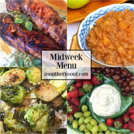Midweek Menu #32 ~ Pork Tenderloin