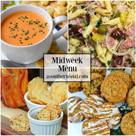 Midweek Menu #34 – Soup & Salad