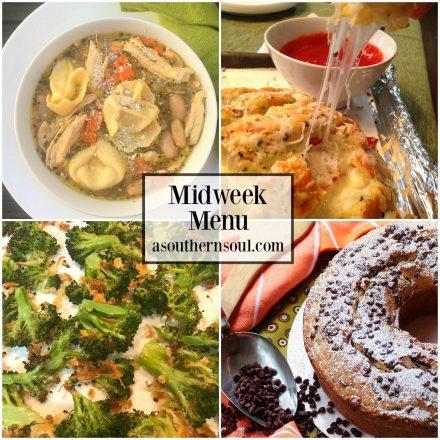 Midweek Menu #35 – Chicken & Cheese Tortellini Soul