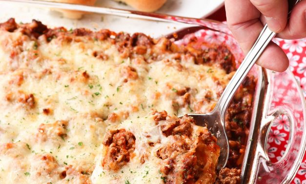 Out Of This World Baked Spaghetti