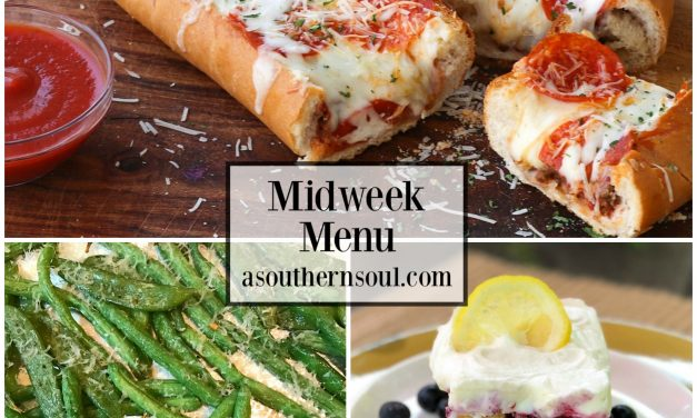 Midweek Menu #36 – Meat Lovers Stuffed French Bread Pizza
