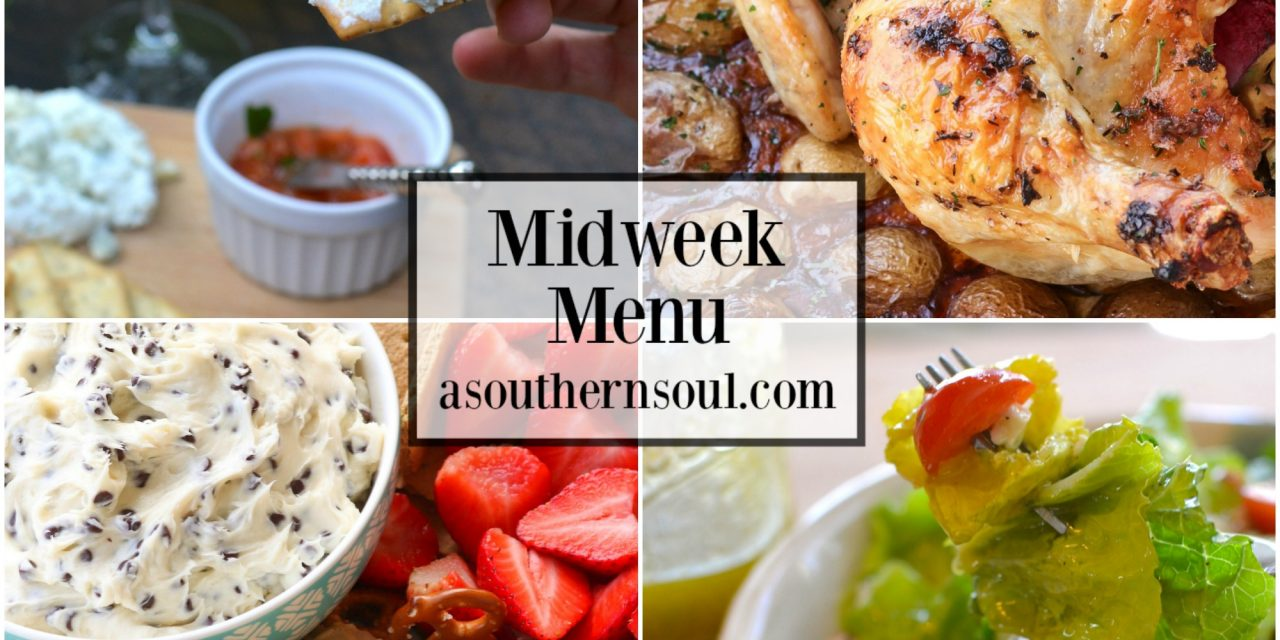 Midweek Menu #37 – Valentine's Day Dinner